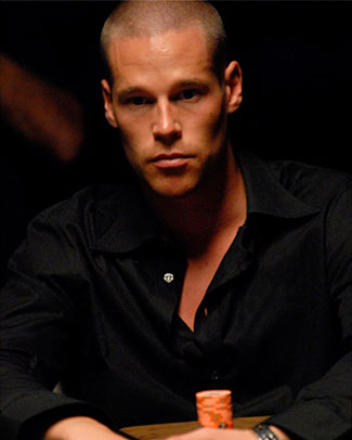 Patrik Antonius on Poker Table